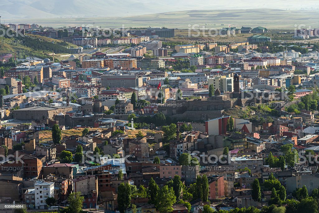 Erzurum - Royalty-free Anatolië Stockfoto