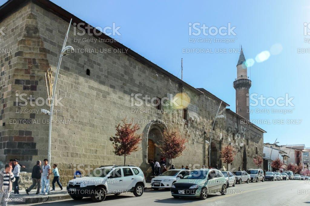 Erzurum Ulu Moschee in Erzurum, Türkei - Lizenzfrei Alt Stock-Foto