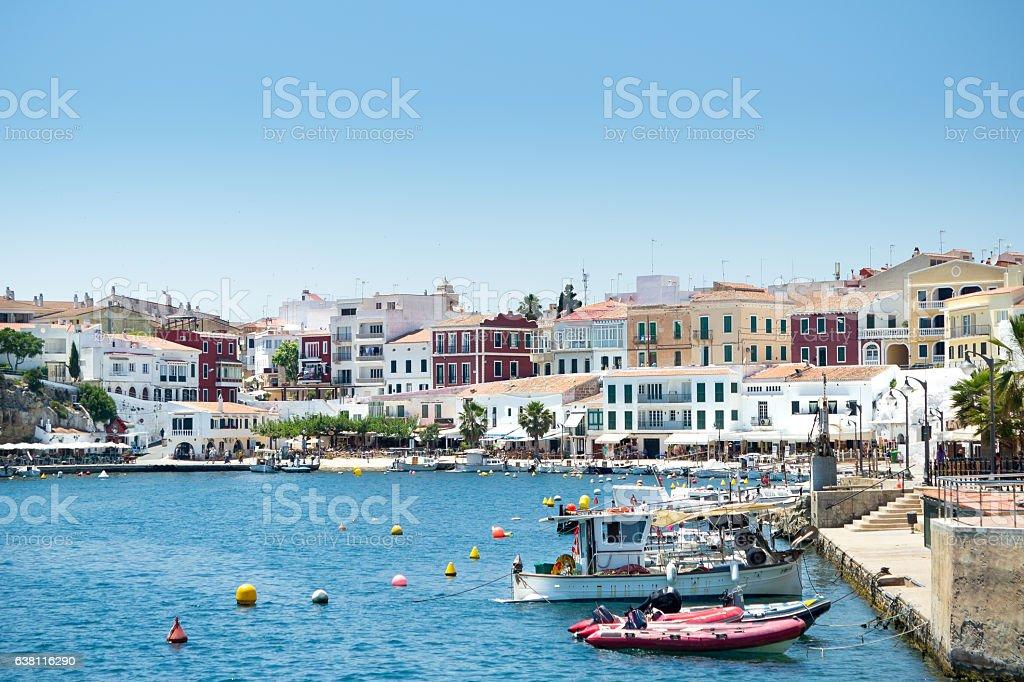 Es Castell, Mahon, Menorca stock photo