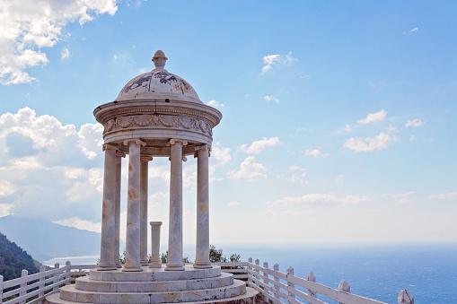 Es Galliner Pavillon in Sohn Marroig, Insel Mallorca, Spanien