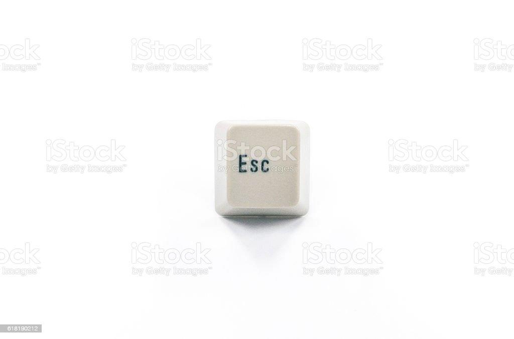 esc escape key stock photo