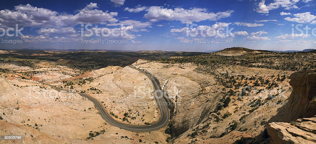 Escalante State Park - scenic byway 12 royalty-free stock photo