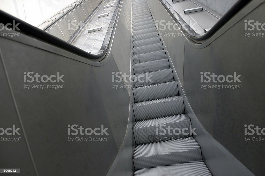 escalator 01 royalty-free stock photo