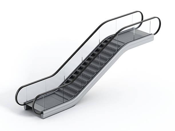 scala mobile - escalator foto e immagini stock