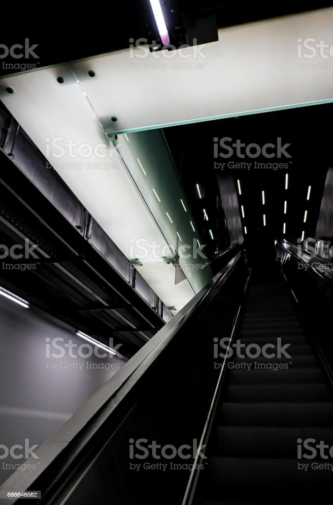 escalator 免版稅 stock photo