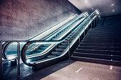istock Escalator, Subwaystation 1301255386