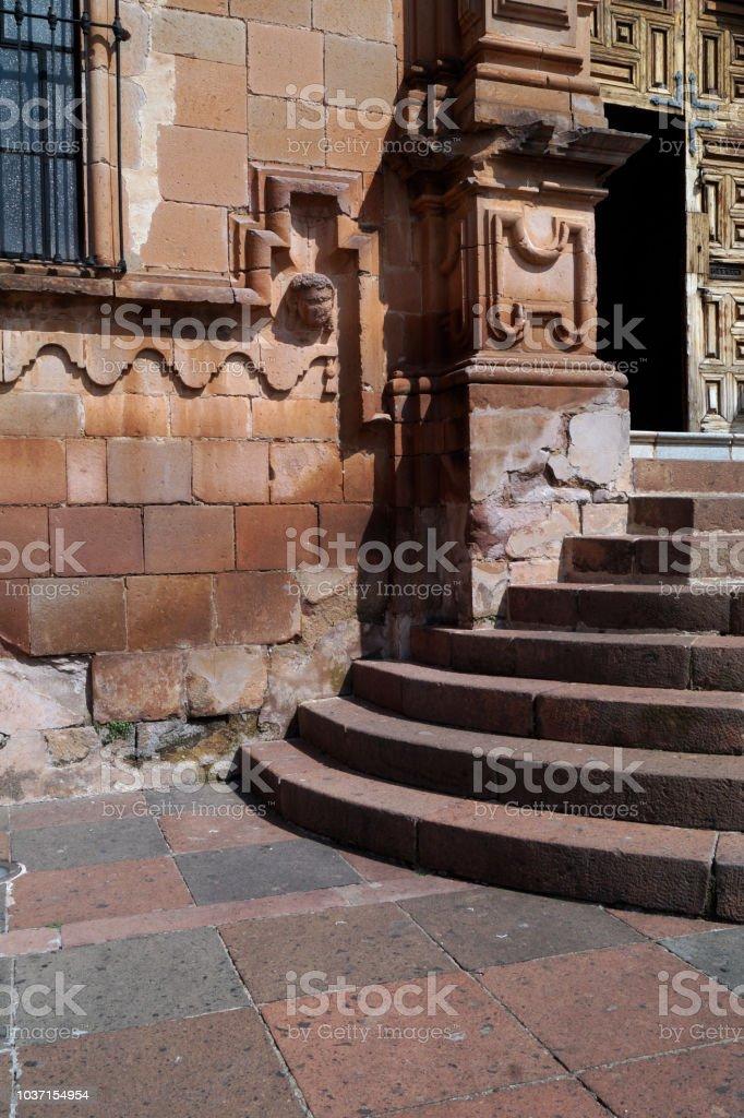Escaleras de Cantera en Rosa Tlapujahua de Rayón, México - foto de stock