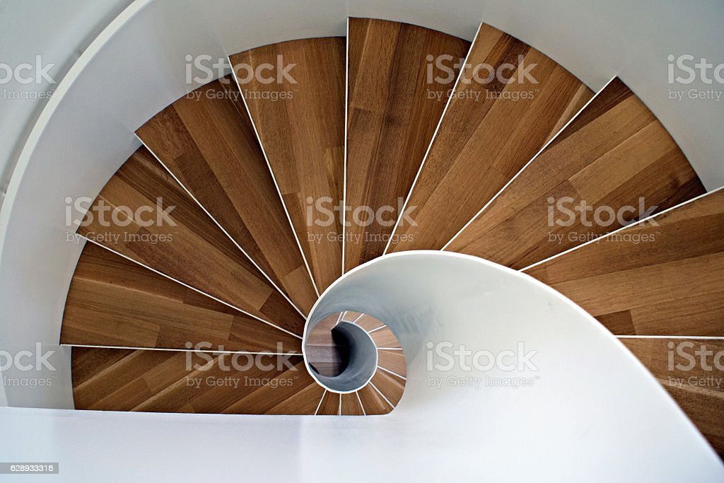 Escalier Colimaçon Stockfoto und mehr Bilder von Aussteigen ...