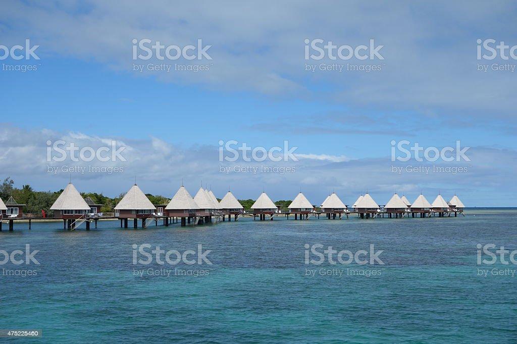 Escapado island resort de Nueva Caledonia noumea- - foto de stock