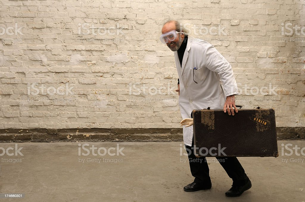 Escape From Berlin stock photo