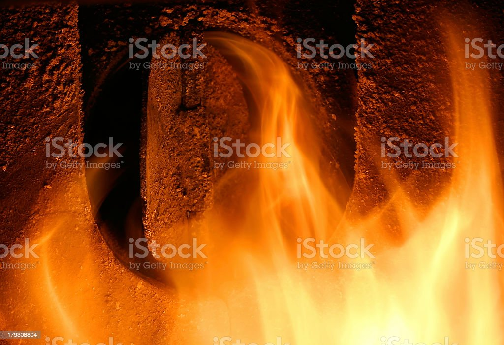 Escape From Hell II royalty-free stock photo