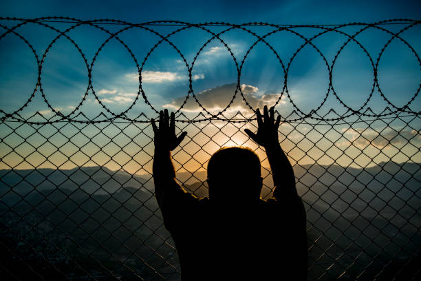 escape - emigration and immigration stock photos and pictures