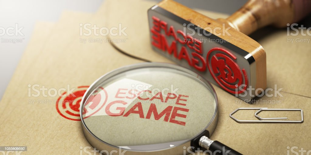 Escape Room, Concept de jeu d'aventure - Photo