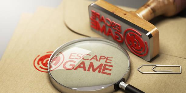 Raum zu entkommen, Abenteuer-Spiel-Konzept – Foto