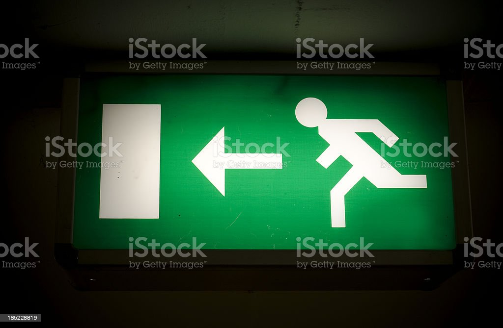escape route, royalty-free stock photo