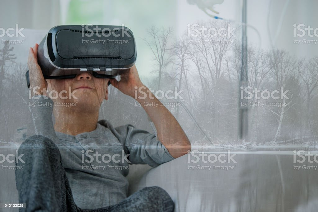Escaping Reality stock photo