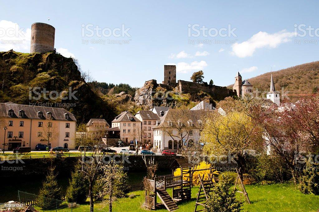 Esch sur Sure - Luxembourg stock photo