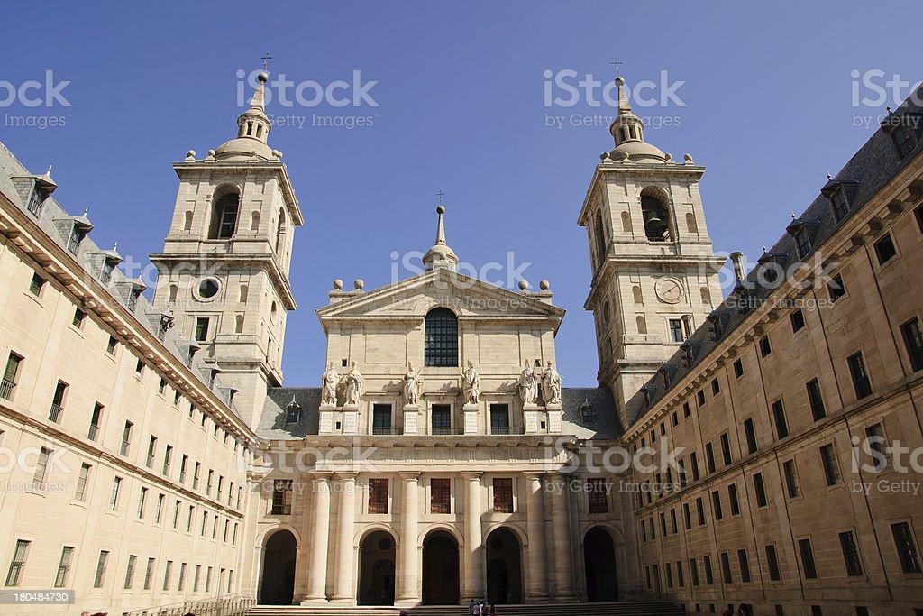 Escorial royalty-free stock photo