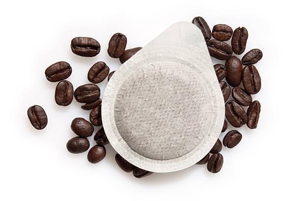 Ese espresso Kaffee serviert – Cialde – Foto