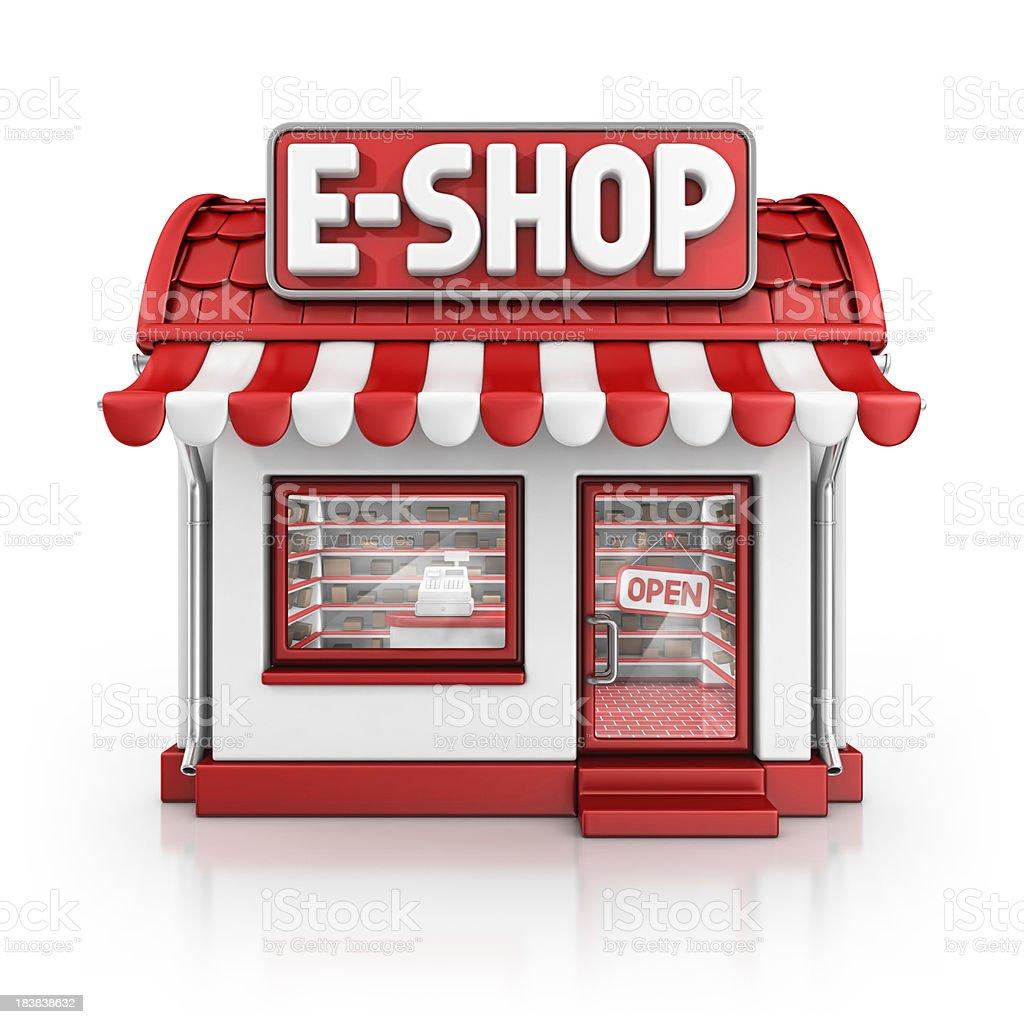 e-shop royalty-free stock photo