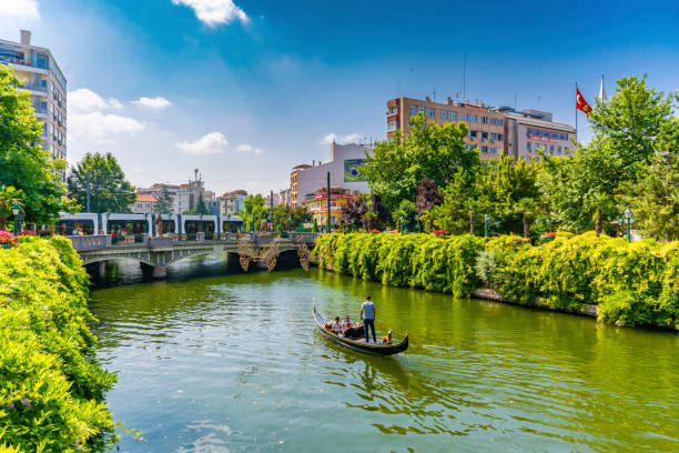 Eskisehir City in Turkey stock photo