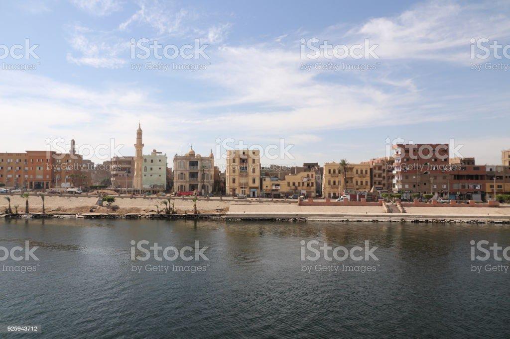 Esna Dorf, Ägypten - Lizenzfrei Afrika Stock-Foto