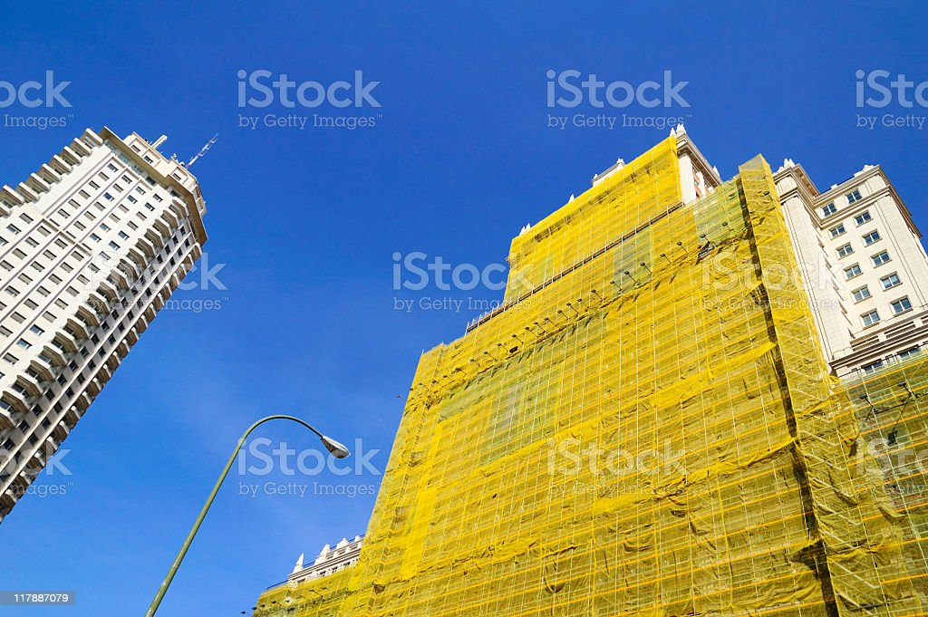 Edificio Espa stock photo