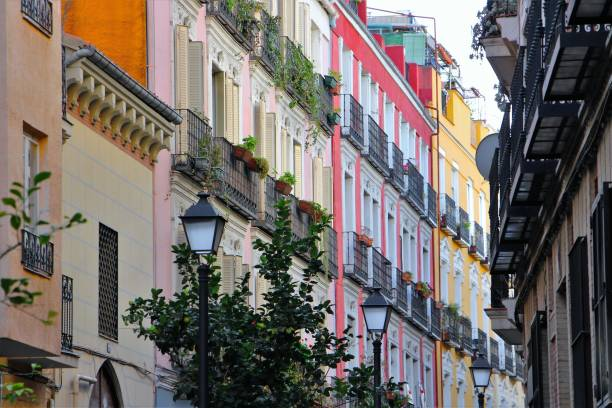 Espagne, Madrid - vieille ville, centre ville stock photo