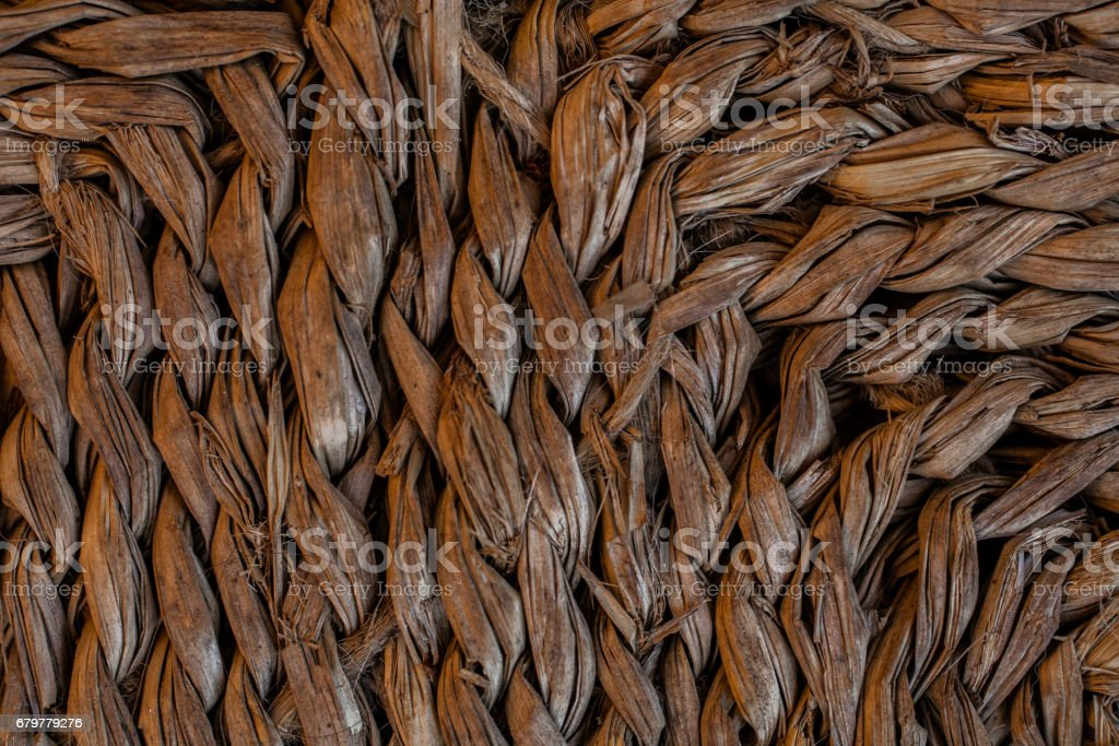 Esparto texture. Background of handmade esparto carpet. Abstract texture and background for designers. Close up view of esparto texture. Natural pattern textures. stock photo
