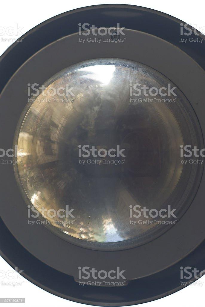 espejo convexo stock photo