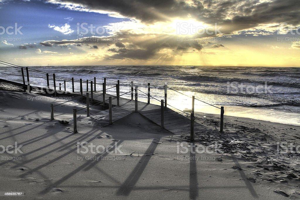 Esposende beach stock photo