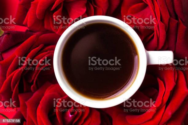 Espresso and roses on red background color surge valentine day picture id875329158?b=1&k=6&m=875329158&s=612x612&h=pexz1twnkd6bbp8h0sdly2jkpy9 fd52moxhx3xqzti=
