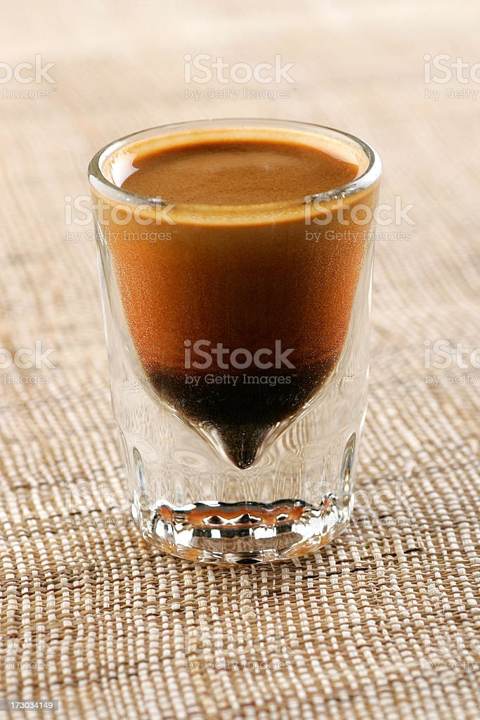 espresso closup royalty-free stock photo