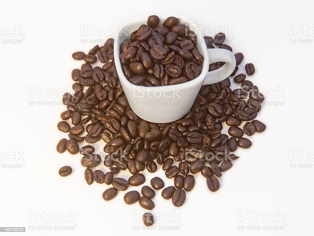 Espresso Coffee Beans royalty-free stock photo