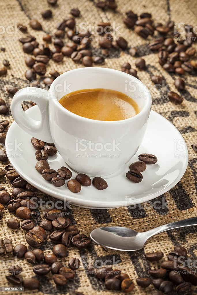 Espresso, coffee cup royalty-free stock photo