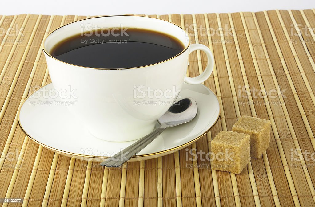 Espresso Coffee Cup royalty-free stock photo