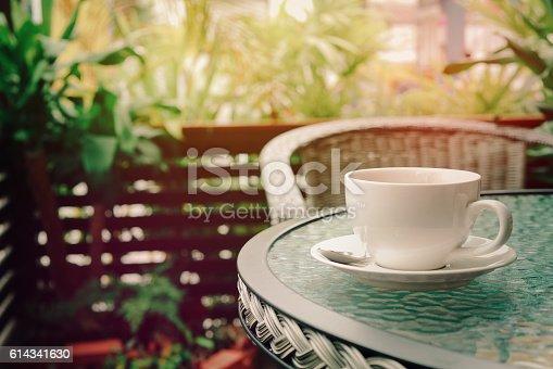 istock espresso coffee in the garden 614341630
