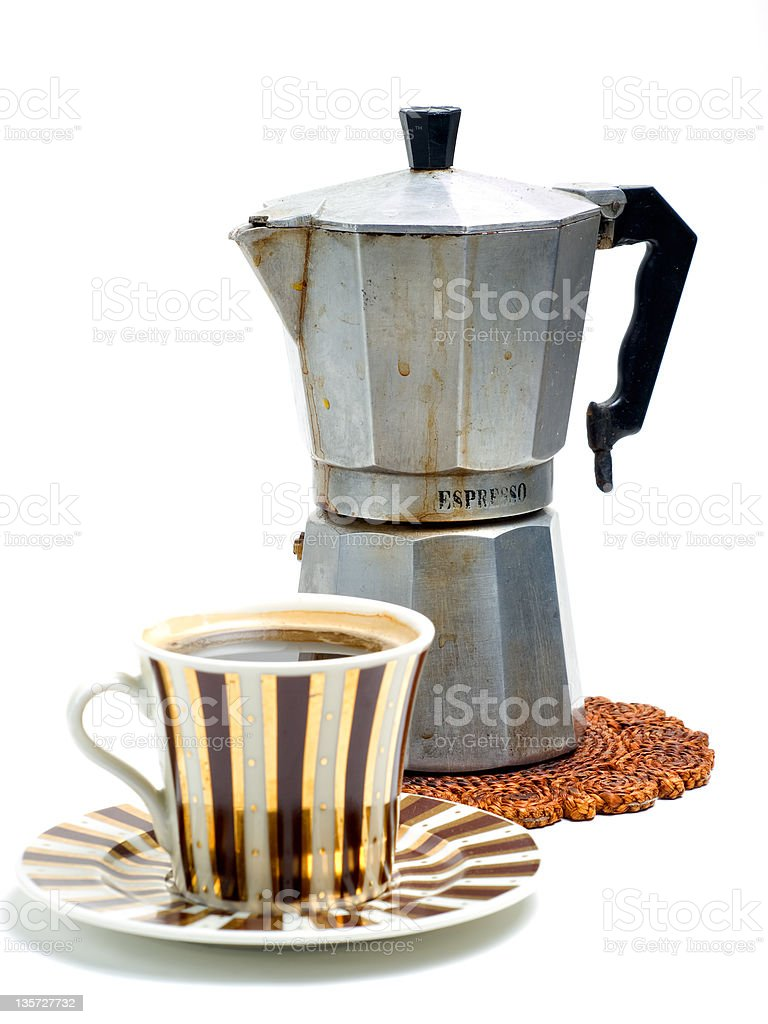 Espresso coffee royalty-free stock photo