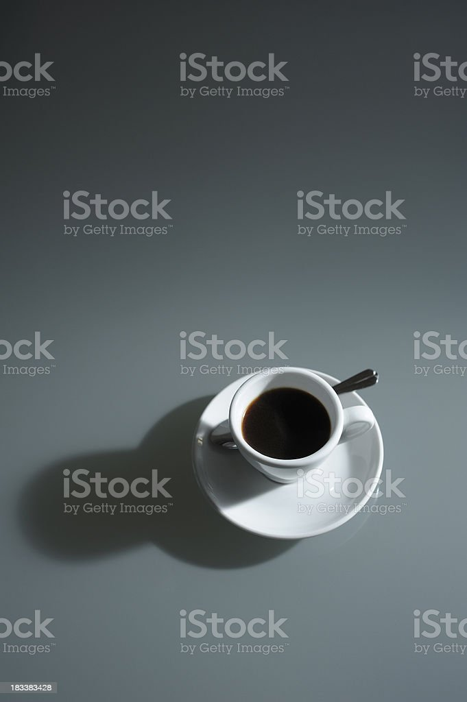 Espresso Coffee Ready to Drink royalty-free stock photo