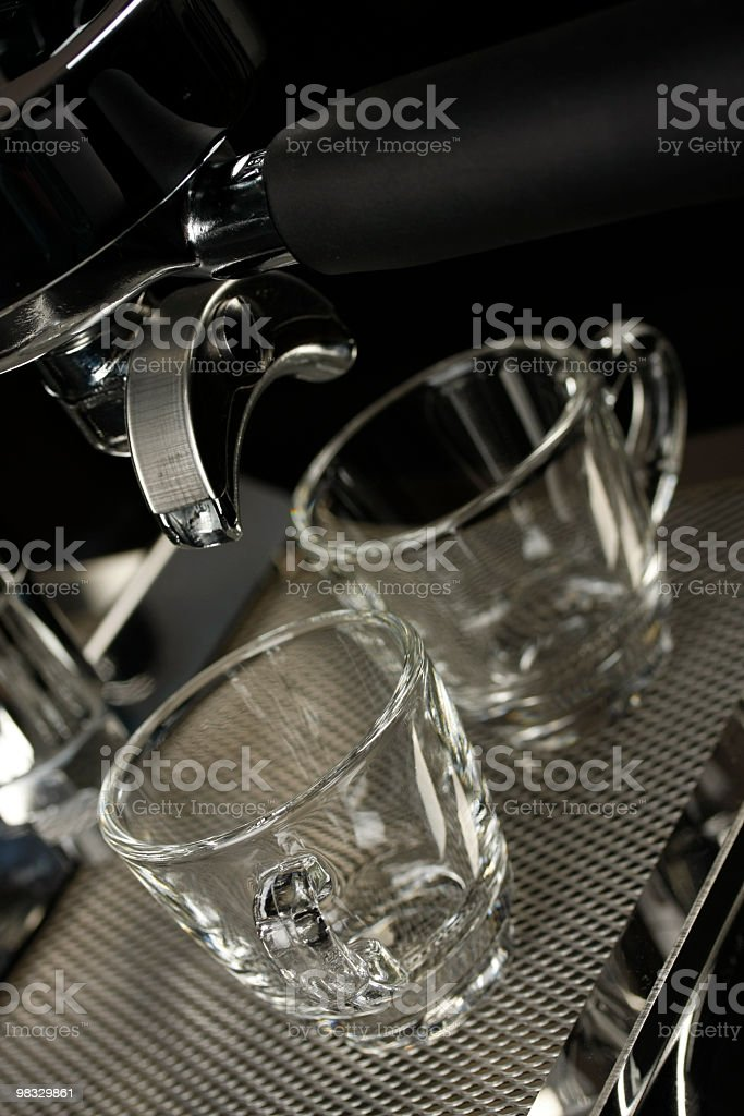 espresso cups royalty-free stock photo