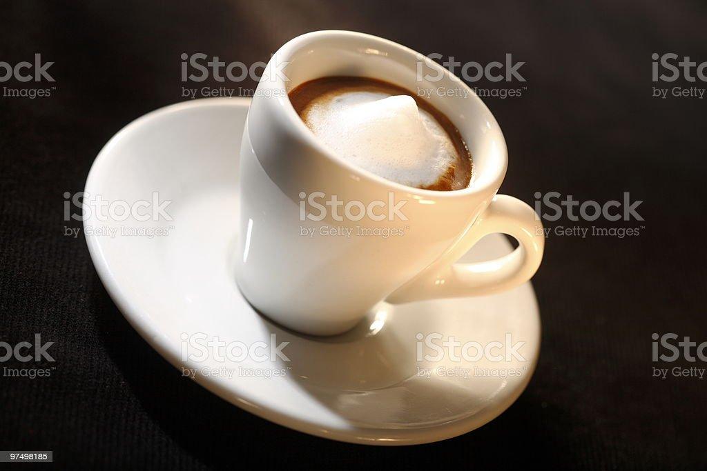 Espresso Macchiato royalty-free stock photo