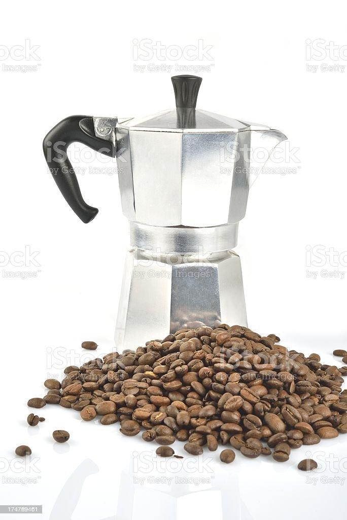 Espresso maker royalty-free stock photo