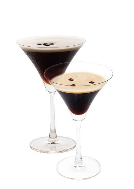 Espresso martini isoliert – Foto