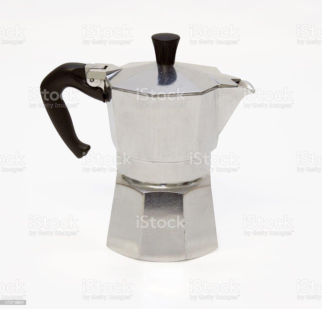 Espresso Pot royalty-free stock photo