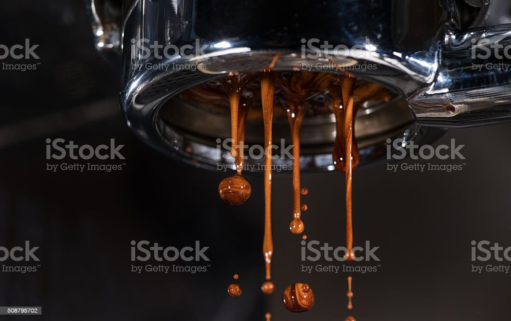 Espresso Pull stock photo