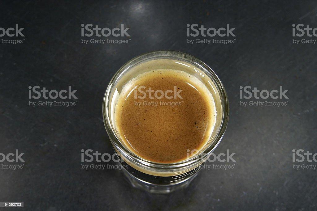 Espresso Shot royalty-free stock photo