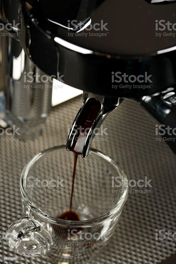 espresso scatto foto stock royalty-free