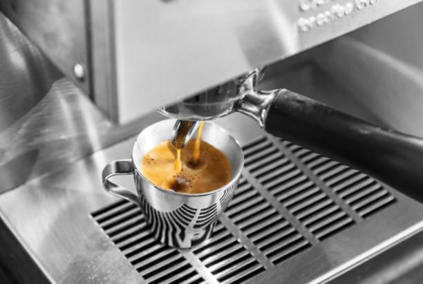 Espresso time stock photo