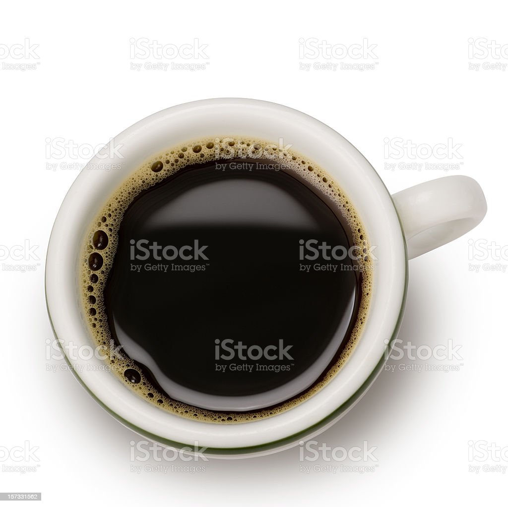 Espresso with clipping path XXL stock photo