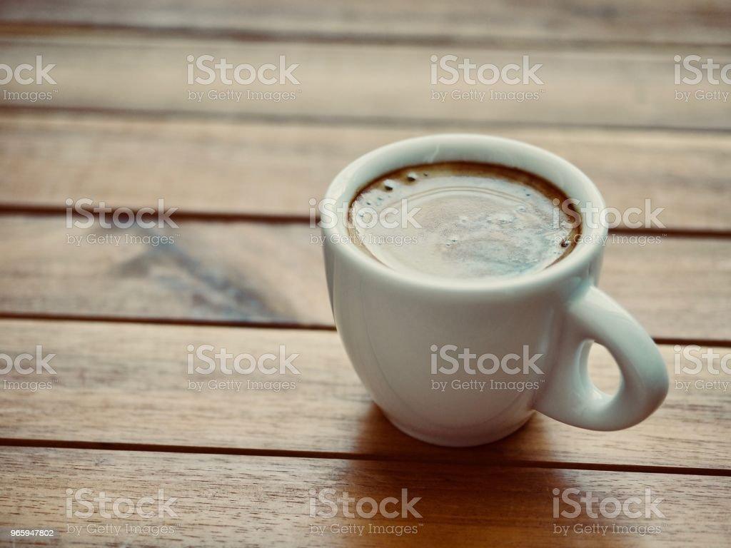 espresso,Espresso coffee cup, crema, coffee crema - Royalty-free Art Stock Photo